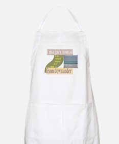 grey nomad on the road again BBQ Apron
