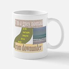 grey nomad on the road again Mug