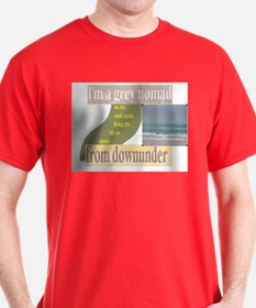 grey nomad on the road again T-Shirt
