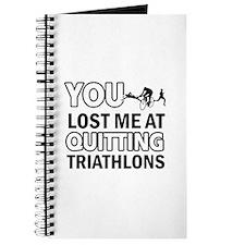 Quirky Triathlon designs Journal