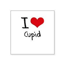 I love Cupid Sticker