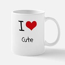 I love Cute Mug