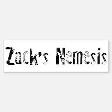 Zack's Nemesis Bumper Bumper Bumper Sticker
