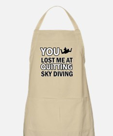 Quirky Sky Diving designs Apron