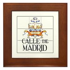 Calle de Madrid, Madrid - Spain Framed Tile