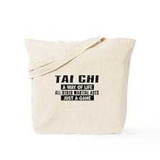 Tai Chi Lovers Designs Tote Bag
