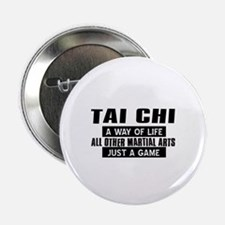 "Tai Chi Lovers Designs 2.25"" Button (100 pack)"