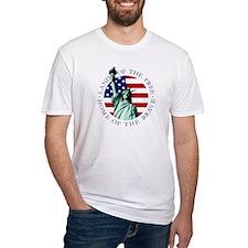 Liberty & American flag Shirt