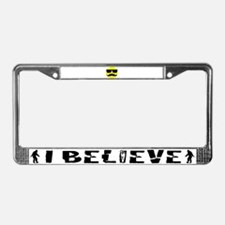 Cool smiley License Plate Frame