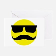 Cool smiley Greeting Card