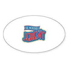 The Incredible Jeremy Decal