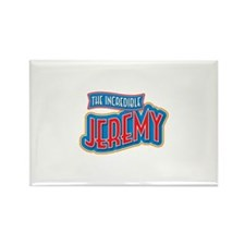 The Incredible Jeremy Rectangle Magnet