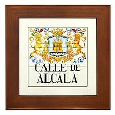 Calle de Alcalá, Madrid - Spain Framed Tile