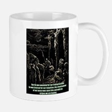 JESUS AT CALVARY Mugs