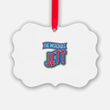 The Incredible Jett Ornament