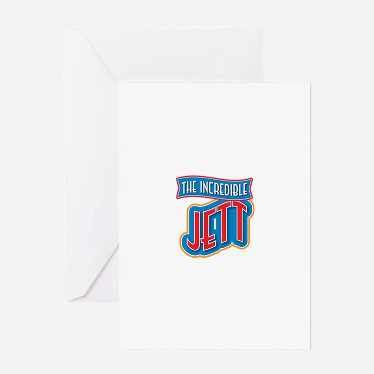 The Incredible Jett Greeting Card
