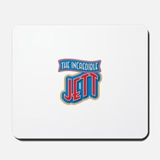 The Incredible Jett Mousepad