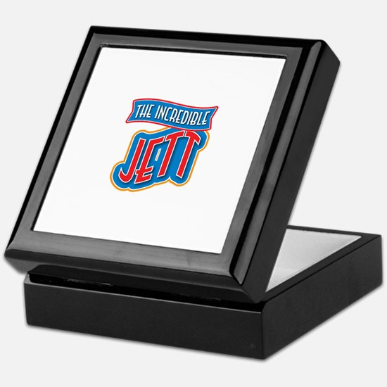The Incredible Jett Keepsake Box