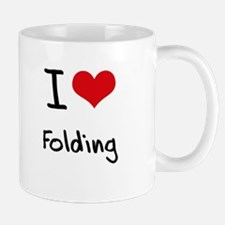 I love Folding Mug