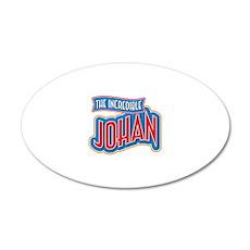 The Incredible Johan Wall Decal