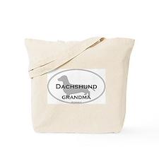 Dachshund GRANDMA Tote Bag