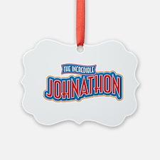 The Incredible Johnathon Ornament