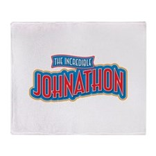 The Incredible Johnathon Throw Blanket