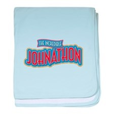 The Incredible Johnathon baby blanket
