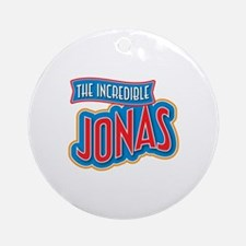 The Incredible Jonas Ornament (Round)