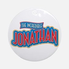 The Incredible Jonathan Ornament (Round)