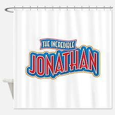 The Incredible Jonathan Shower Curtain