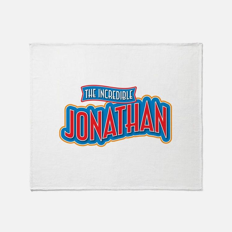 The Incredible Jonathan Throw Blanket