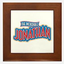 The Incredible Jonathan Framed Tile