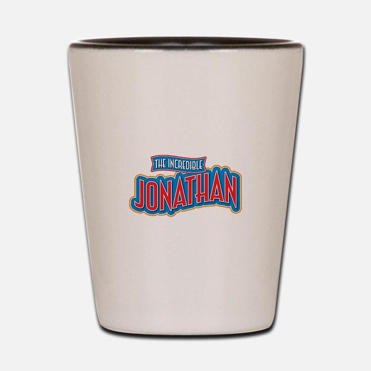 The Incredible Jonathan Shot Glass