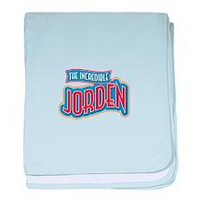 The Incredible Jorden baby blanket