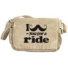 I Mustach You for a Ride Messenger Bag