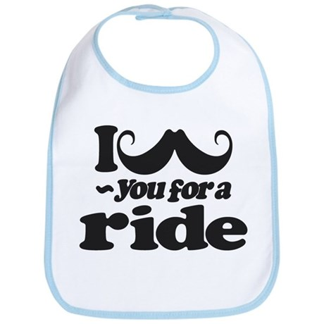 I Mustach You for a Ride Bib