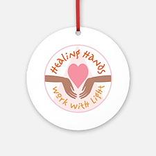 Healing hands - Ornament (Round)