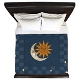 Sun and moon King Duvet Covers