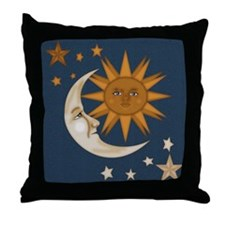 Starry Nite Throw Pillow