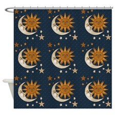 Starry Nite Shower Curtain