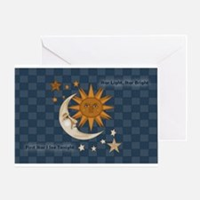 Starry Nite Greeting Card