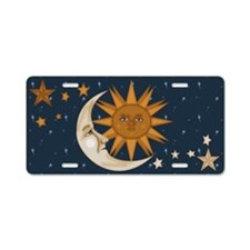 Starry Nite Aluminum License Plate