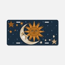 Starry Nite Aluminum License Plate