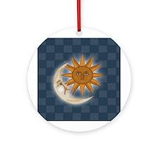Starry Nite Ornament (Round)