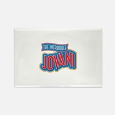 The Incredible Jovani Rectangle Magnet