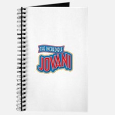 The Incredible Jovani Journal