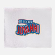 The Incredible Jovanni Throw Blanket