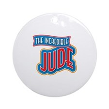 The Incredible Jude Ornament (Round)
