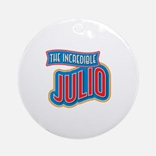 The Incredible Julio Ornament (Round)